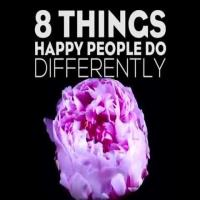 8 Things Happy People Do-min